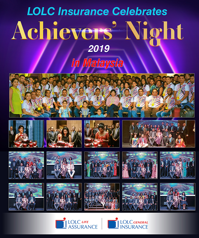 335b5b98618 LOLC Insurance Celebrates Achievers' Night 2019 in Malaysiya